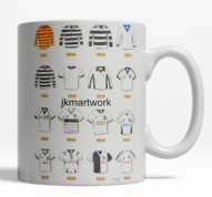 ayr united shirts   mug